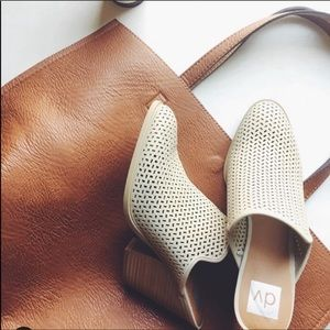 Dv by dolce vita kenli perforated mules